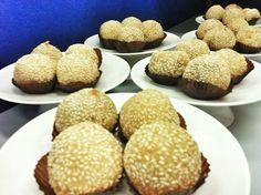 Recette Nom Korng, les boules au sésame - Cuisine asiatique du Sud Est