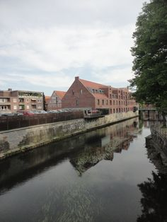 Reflections in the water in Lüneburg One Day Trip, Places To See, Water, Gripe Water, Day Trips