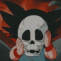 Whats Wallpaper, Skull Wallpaper, Dragon Ball Image, Dragon Ball Gt, Vintage Cartoon, Cartoon Art, Kid Goku, Animes Wallpapers, Aesthetic Anime