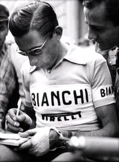 cadenced:  Fausto Coppi  Coppi. ~ The Deep Section