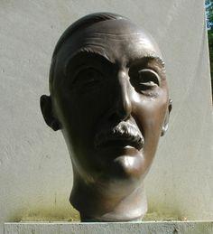 Stefan Zweig.. Schivo. Authors, Writers, Stefan Zweig, One Decade, Sculpture, Literature, Portraits, Statue, Famous Poets