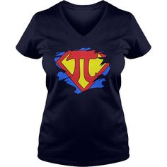 Awesome math gift for yourself SUPER PI t-shirt tee mug necklace legging hat cap Pi Day Shirts, Math Shirts, Tee Shirts, Pi T Shirt, Great T Shirts, Lady V, Funny Gifts, Custom Shirts, How To Look Better