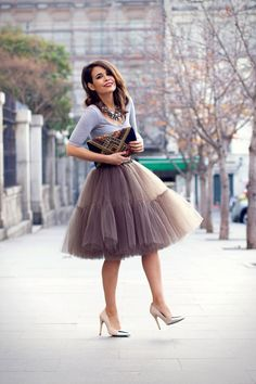 Gender: Women Waistline: Empire Decoration: None Pattern Type: Solid Style: Fashion Material: Polyester Dresses Length: Floor-Length Silhouette: A-Line Model Number: CPT3 2016: Women Tulle Skirt New :