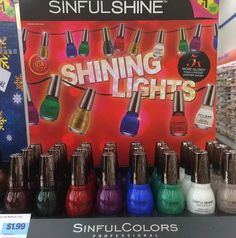 Spotted: Sinful Colors and Sinful Shine Holiday 2014 Collections