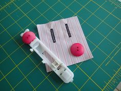 Never sew buttonholes by hand again. In this DIY sewing lesson, Deby at So Sew Easy shows how to sew a pristine buttonhole with a sewing machine.