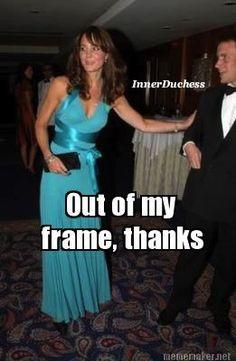 Royalty get their own frame