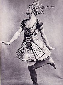 Vaslav Nijinsky in 'Le Dieu Bleu' (1912)