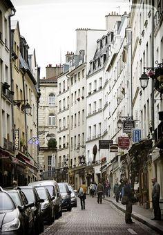 Rue Mouffetard, Paris. A espaldas de mi despacho ;)