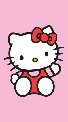 Hello Kitty ★ Find more super cute Kawaii wallpapers for your #iPhone + #Android…