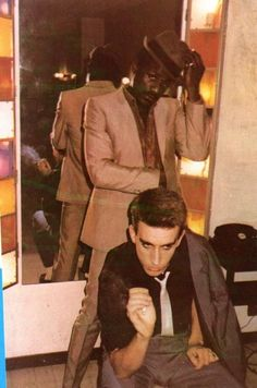 Neville & Terry - The Specials 2 Tone Ska Terry Hall, Frankie Goes To Hollywood, Reggae Style, Ska Punk, Acid House, Teddy Boys, Rude Boy, Northern Soul, Indie Pop