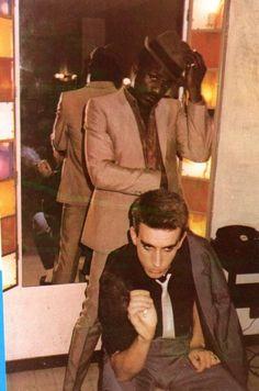 Neville & Terry - The Specials 2 Tone Ska Music Film, My Music, Terry Hall, Ska Punk, Reggae Style, Acid House, Teddy Boys, Rude Boy, Indie Pop