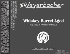 Weyerbacher - Brewers Select Whiskey - Barrel Aged