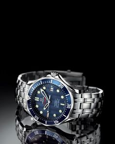 OMEGA Watches: Seamaster 300 M Chronometer - Steel on steel - Omega Seamaster Diver 300m, Seamaster 300, Omega Seamaster Automatic, Stylish Watches, Luxury Watches For Men, Amazing Watches, Cool Watches, Wrist Watches, Apple Watch Fashion