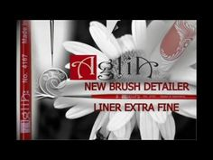 AGLIA- nails-NEW DETAIL BRUSH - LINER EXTRA FINE