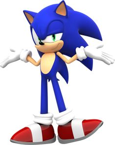 NINTENDO. WHY YOU DO THIS? STUPID LITTLE BLEH BELH *tips over table* I mean Nothing. Sonic is owned by Sega and Sonic Team The new 3ds, nobody cares who it's owned by