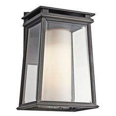A sleek lantern is the perfect way to shed some light. | $165