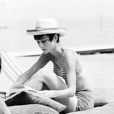 Audrey Hepburn in Venice, Italy, August 1965