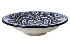 Blue Moroccan Plate on OneKingsLane.com $129