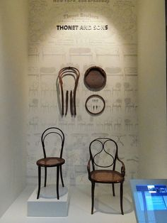 deconstructed chair In the Furniture Gallery, Victoria and Albert Museum by rosemarybeetle, via Flickr