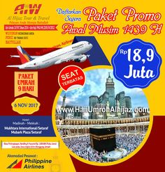 Alhijaz Indowisata Paket Umroh November 2017 promo by philippine