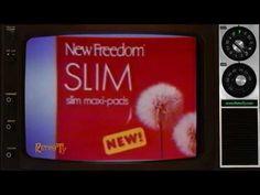 1985 - New Freedom Slim Maxi Pads - Feel Free
