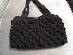 crocodile stitch crochet purse! - full pattern! <3<3<3