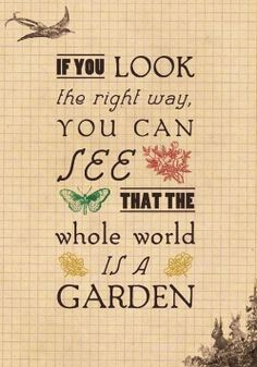 Garden Quotes About Life Quotesgram