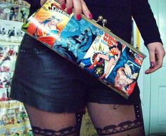 Comic book purse. If only there was a link to buy it...