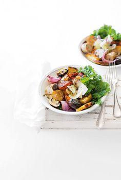 Italian Sausage, Pear & Sweet Potato Bake | In Season: Autumn | MiNDFOOD