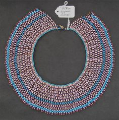 Vintage Zulu Beaded Necklace - Own your own piece of Zulu history