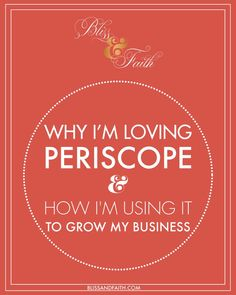 Have you heard who's the new Jan Brady in town? Yep, its Periscope, the awesome social media platform that lets you video broadcast and have a live chat with your followers simultaneously.