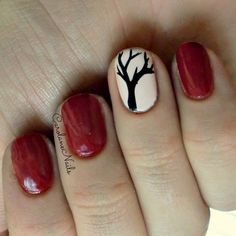 Fall tree nails!