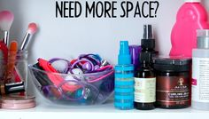 Do you have a lot of small things taking up room in your cabinets and drawers?