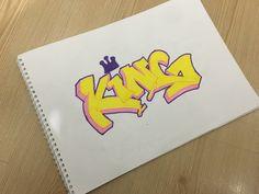 Kıng-Graffiti ByWard Graffiti, Accessories, Graffiti Illustrations, Graffiti Artwork, Street Art Graffiti