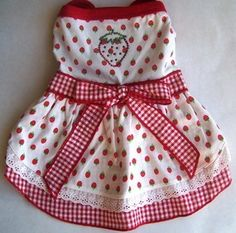 Dog Dresses Summer small dresses cute dog dresses by miascloset, $14.00