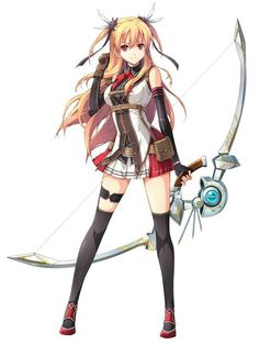 Art weapon anime girl bow Resultado de imagen de trails of cold steel characters Art Manga, Anime Art Girl, Manga Girl, Anime Girls, Anime Fantasy, Fantasy Girl, Girls Characters, Manga Characters, Female Characters