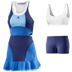 adidas Women's adidas by Stella McCartney Barricade Dress Tennis Shoes Outfit, Tennis Dress, Tennis Clothes, Golf Outfit, Tennis Outfits, Mode Tennis, Adidas Stella Mccartney, Sport Outfits, Cool Outfits