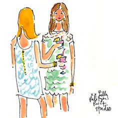 Only 1 day until Lunch at Lilly! #lilly5x5