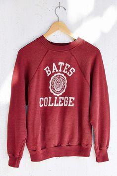 Vintage Bates College Sweatshirt