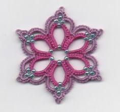 tatted earring motif