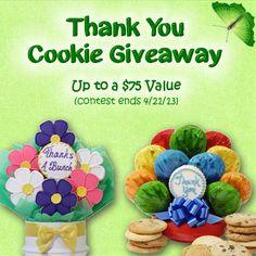 Cookie Giveaway