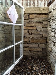 Fond Du Lac Wall Stone Egress Window At Home In Plymouth