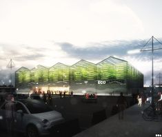 SOA Architects Paris Projects Urban farming