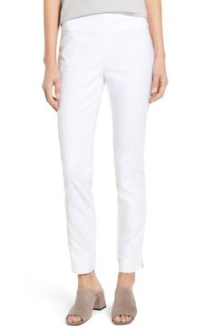 Main Image - NIC+ZOE The Perfect Slim Ankle Pants  NEED WHITE   These are nice but maybe a size 6 since white shows every bit of cellulite lol  this length is perfect of slightly longer