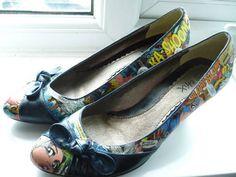 Comic book shoes!!!