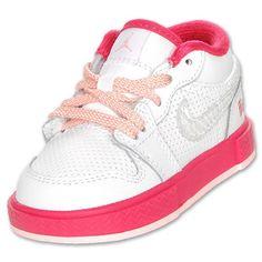 fresh nike jordans for the babygirl.