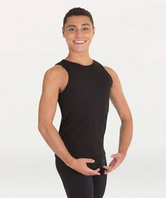 Body Wrappers B407 ProWEAR Hi-Neck Tank Pullover- Child
