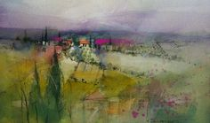 Painted on location Massa Marittima, Italy  © John Lovett
