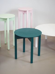Celinde is a minimalist collection of tables created by Austria-based designer Lukas Klingsbichel Painted Furniture, Furniture Design, Design Process, Accent Decor, Modern, Dining Chairs, Woodworking, Lounge, Inspiration