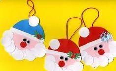 santa claus is coming to town! Santa Crafts, Christmas Crafts For Kids, Christmas Art, Christmas And New Year, Christmas Decorations, Xmas, Christmas Ornaments, Holiday Decor, Ded Moroz